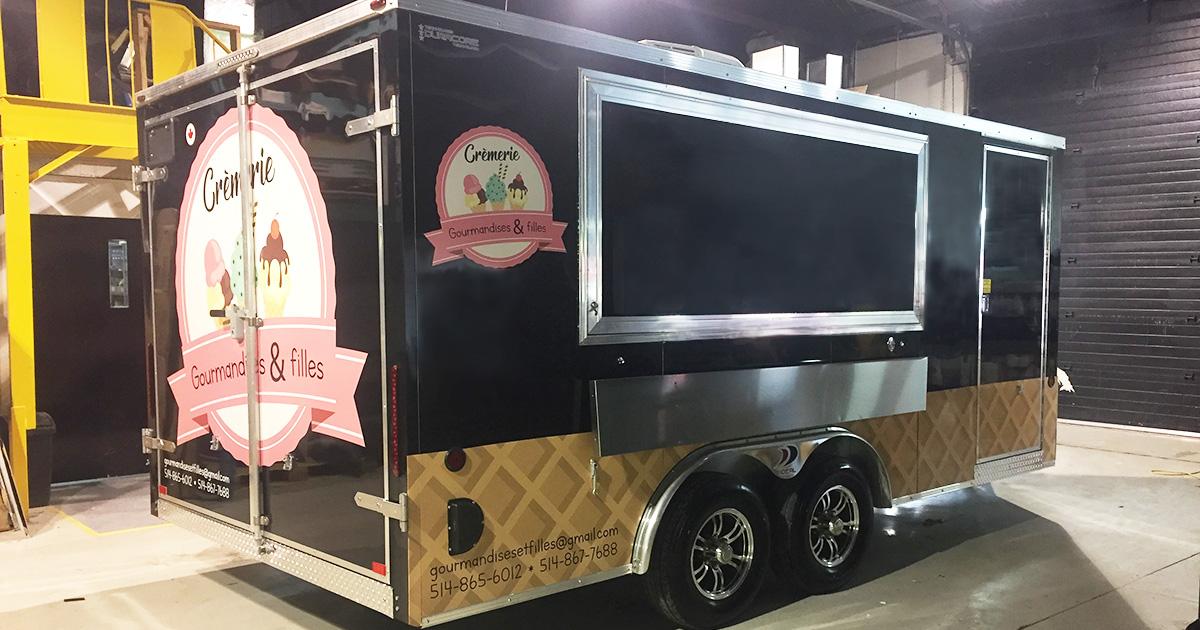 Crèmerie mobile Gourmandises & filles