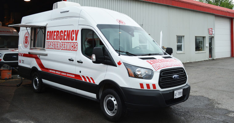 Salvation Army Emergency & Disaster Services